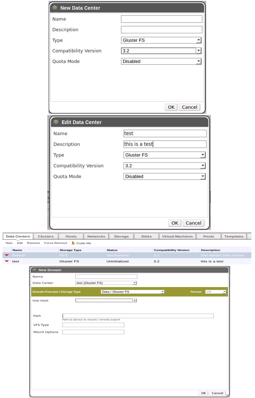 GlusterFS Storage Domain — oVirt